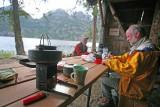 Cooking At Flick Creek Shelter