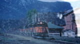 Milwaukee Train Pull East INto Cle Elum In Mid 70's