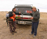 Raymond Sr. And Dad Telling Hunting Stories