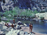 Deep Creek Hot Springs ( April  1977)