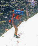 Mad Monte Hiking Near Wrightwood , California PCT  ( April 1977)