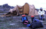 Rule # 1,, Nylon And Flames Make For  Poor Camping