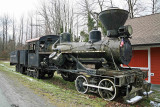 Logging Steam Locomotive  ( Heisler  # 10 )In Elbe Washington