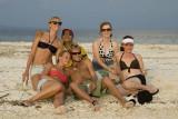 Expat frolics, Kennedy Island