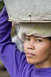 Woman labourer, Bali