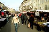Saturday market in Pezenas