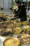 Olive varieties at the Pezenas market