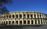 Les Arenes, the Roman amphitheatre in Nimes
