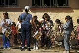 School band at Creel