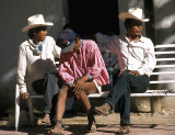 Tarahumara men in Batopilas