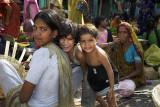 Market family, Udaipur