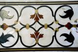 Pietra dura, a marble inlay