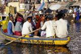 On the Ganges at Varanasi