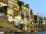 The Ghats on the Ganges, Varanasi, India