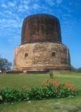 Stupa at Sarnath, birthplace of the Buddha