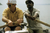 Rowing down the Ganges (with a little help from a pro)
