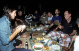 Dining with village hosts at Mai Chau