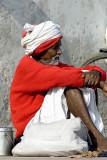 Pilgrim, Rishikesh, India