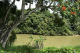 Sungei Lipis, Kuala Lipis; in 1990 the river nearly burst its banks