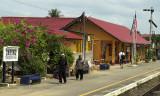 Station at Dabong, Kelantan