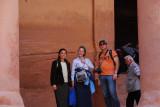 Posing infront of the Treasury (The Khazneh)