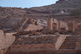 Romans buildings from a later period were destroyed in two earthquakes.