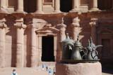 Nice effect at the Ad-Deir Monastery.