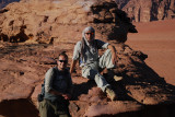 Paul and Adam look the part!  Paul is an Archeologist on 6 month holiday, Adam a film producer traveling with Paul.