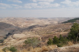 The land surrounding Mt Nebo.