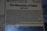 Mt Nebo where Moses looked out upon the Promised Land before he died.