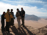We travel as far south as we can and are overlooking Saudi Arabia from this point -- same old, same old for me...