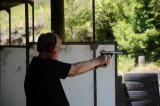 Pistol shooting at Whakatane Pistol Club