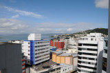 The view of Wellington from my hotel window