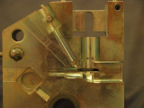 Part of a crankcase die for 1.5cc ETA which never made it into production