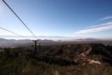 Vue sur Chilecito en haut du Cable Carril