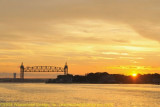 Cape Cod Canal at Sunrise