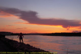 Cape Cod Canal After Sunset