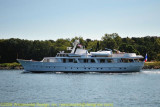 Boat in the Cape Cod Canal
