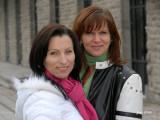 Sophie et les Caroline par cette belle journée d'automne 2006 et en studio pour finir la journée