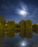 pleine lune sur l'Isle