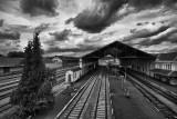 Menace sur la gare