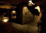 Visite dans un chais de Saint Emilion