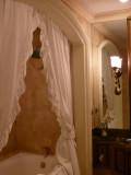 A bathroom befitting a queen!