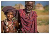 Pareja de ancianos Arbore  -  Arbore elder couple