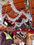 Christmas Cable Car Conductor