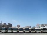 Golden Gate Transit Bus Parking Lot