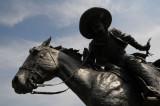 Cattle Drive Sculpture, Dallas Texas Pioneer Plaza