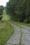Old East German Border Fence Line Patrol Road 2007