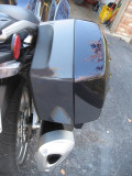 Right rear saddlebag, flash off 2010 C14