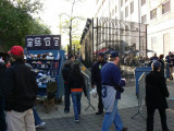 Souvenirs, fans and the Yankee Stadium wall